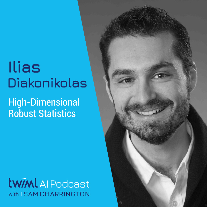 High-Dimensional Robust Statistics with Ilias Diakonikolas - #351 show art