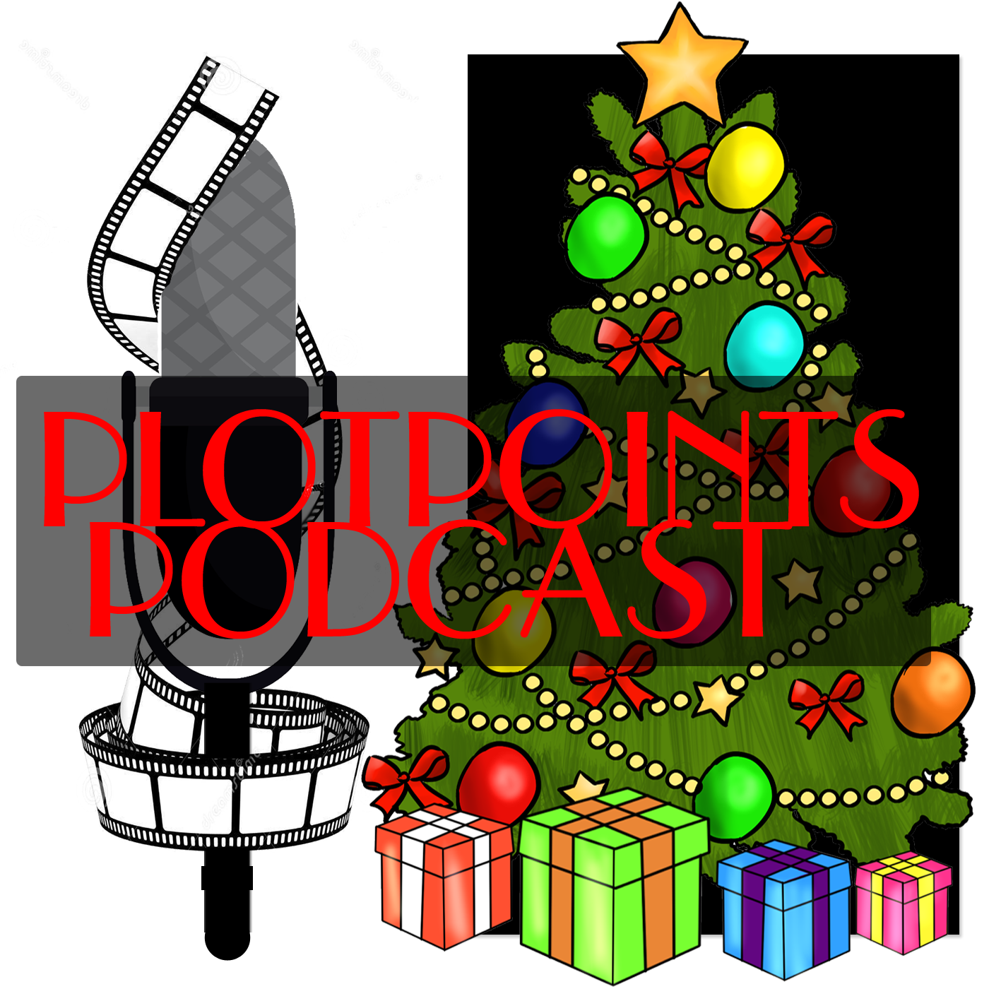 plotpoints podcast Christmas logo