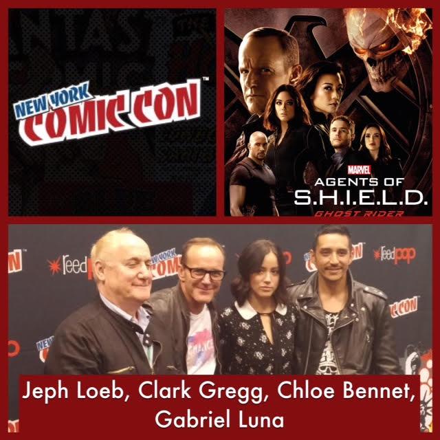 Episode 733 - NYCC: Agents of S.H.I.E.L.D. w/ Chloe Bennet/Clark Gregg/Gabriel Luna/EP Jeph Loeb!