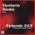 Hysteria Radio 243 show art