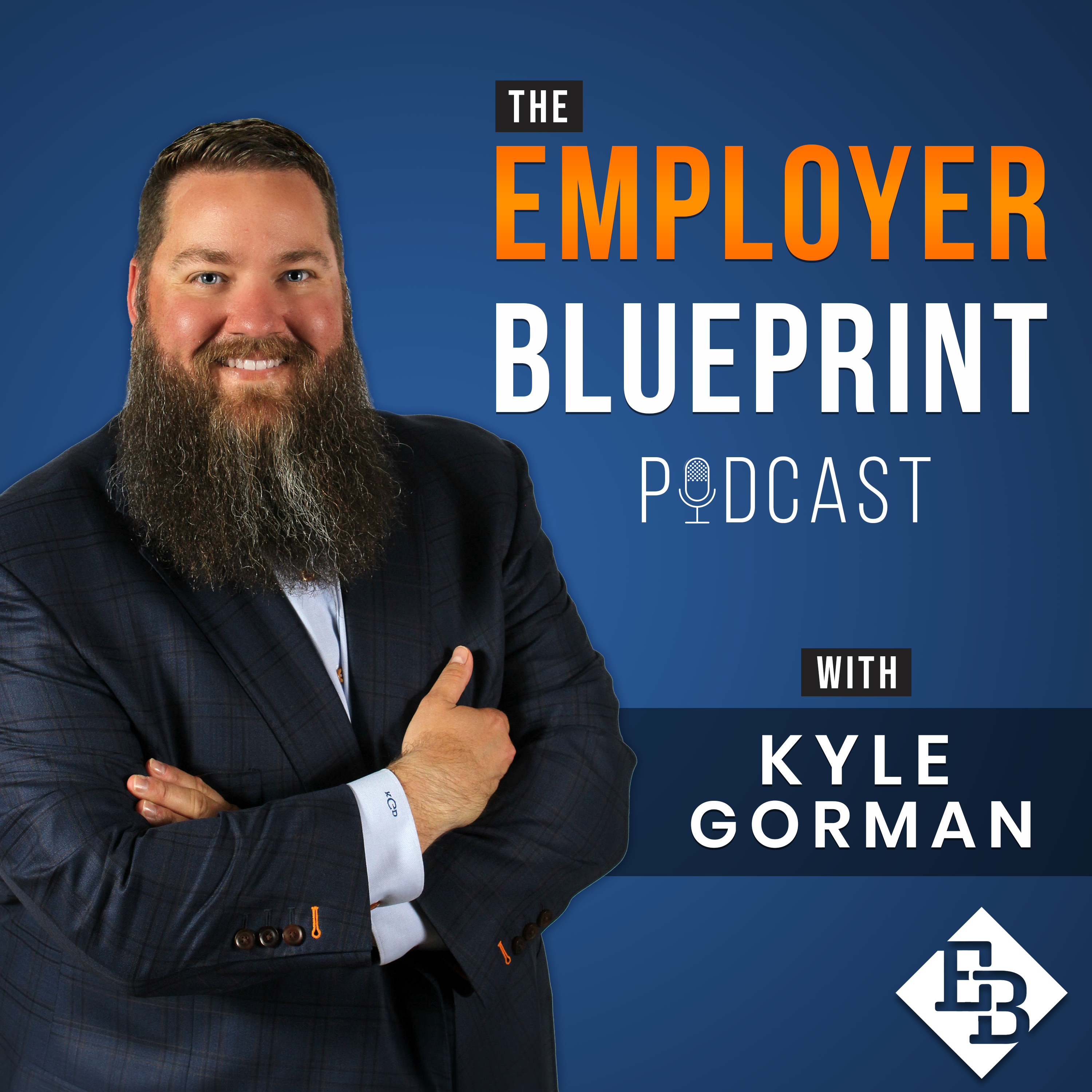 Employer Blueprint Podcast show art