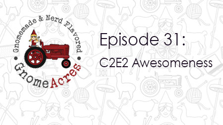 Artwork for Ep 31: C2E2 Awesomeness
