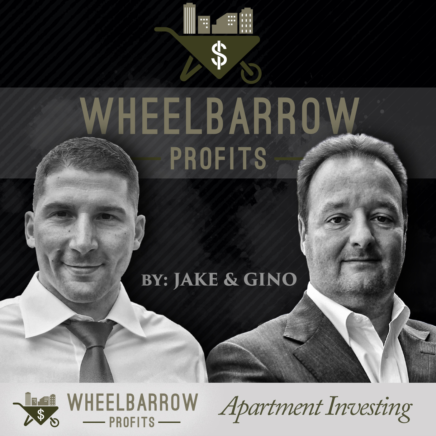 Jake and Gino: Multifamily Real Estate Investing & More show art