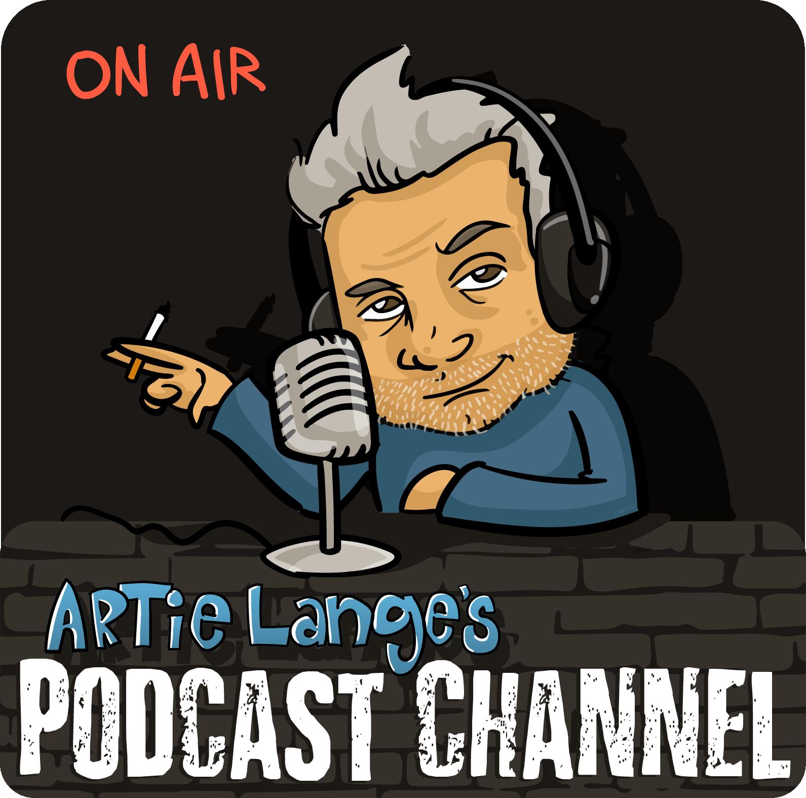Artie Lange's Podcast Channel show art