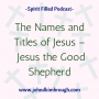 Artwork for The Names and Titles of Jesus – Jesus the Good Shepherd Episode 98