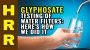 Artwork for Glyphosate testing of WATER FILTERS: Here's how we did it