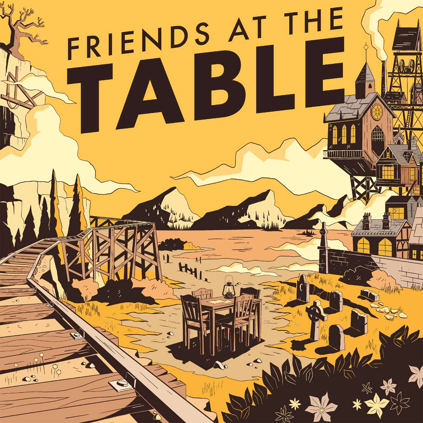 Friends at the Table show art