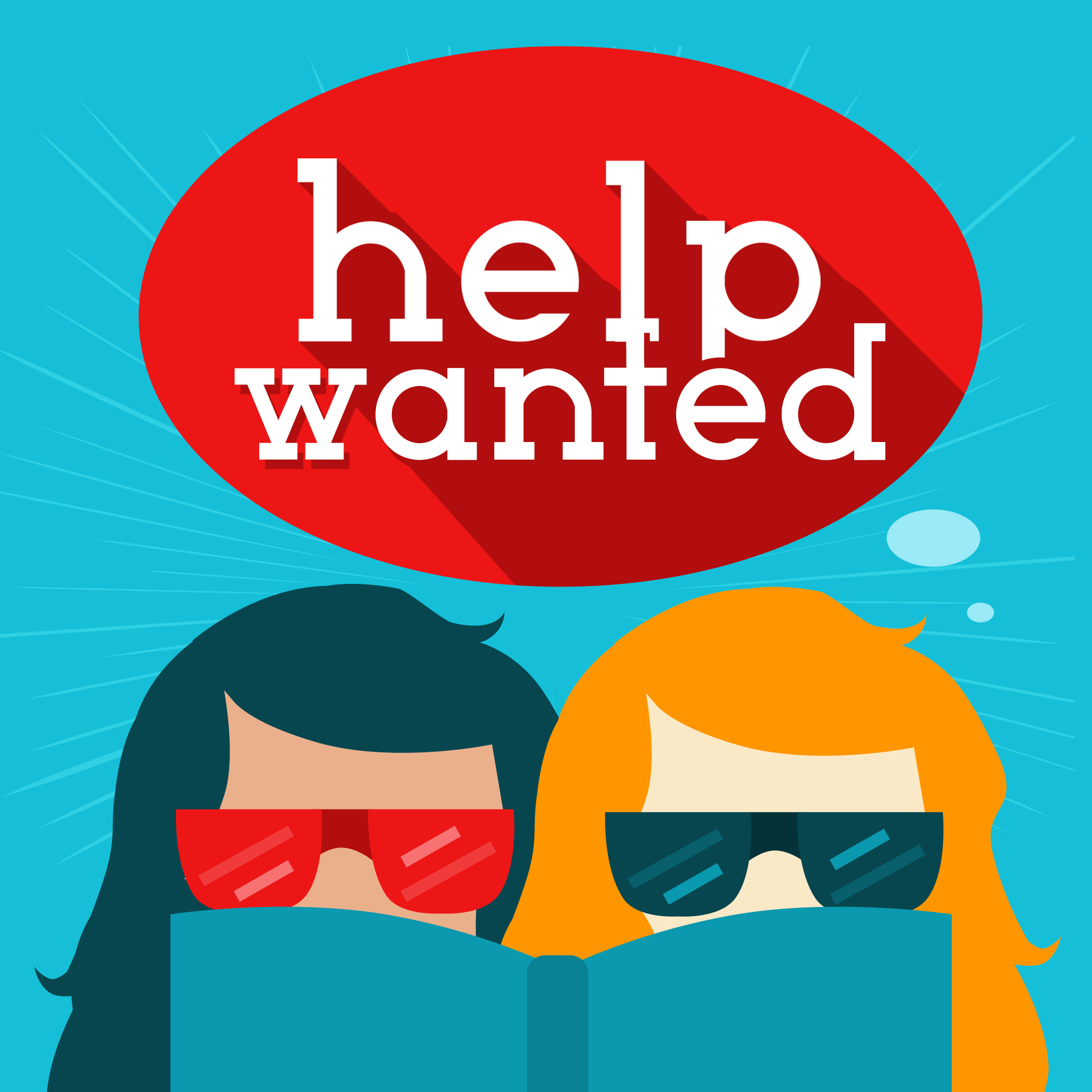 Help Wanted show art