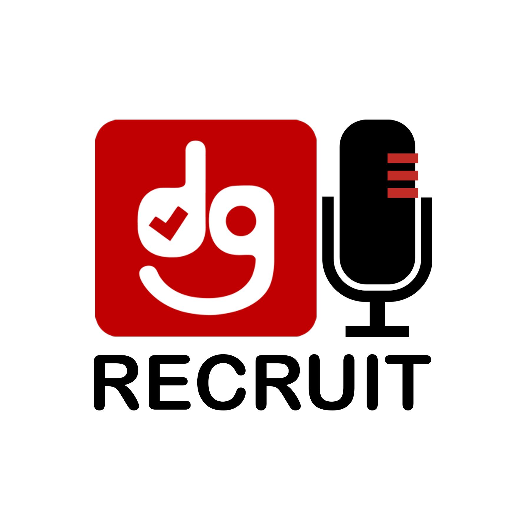 DG Recruit Podcast show art