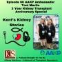 Artwork for Episode 66: AAKP Ambassador Toni Martin's 3 Year Transplant Anniversary Special