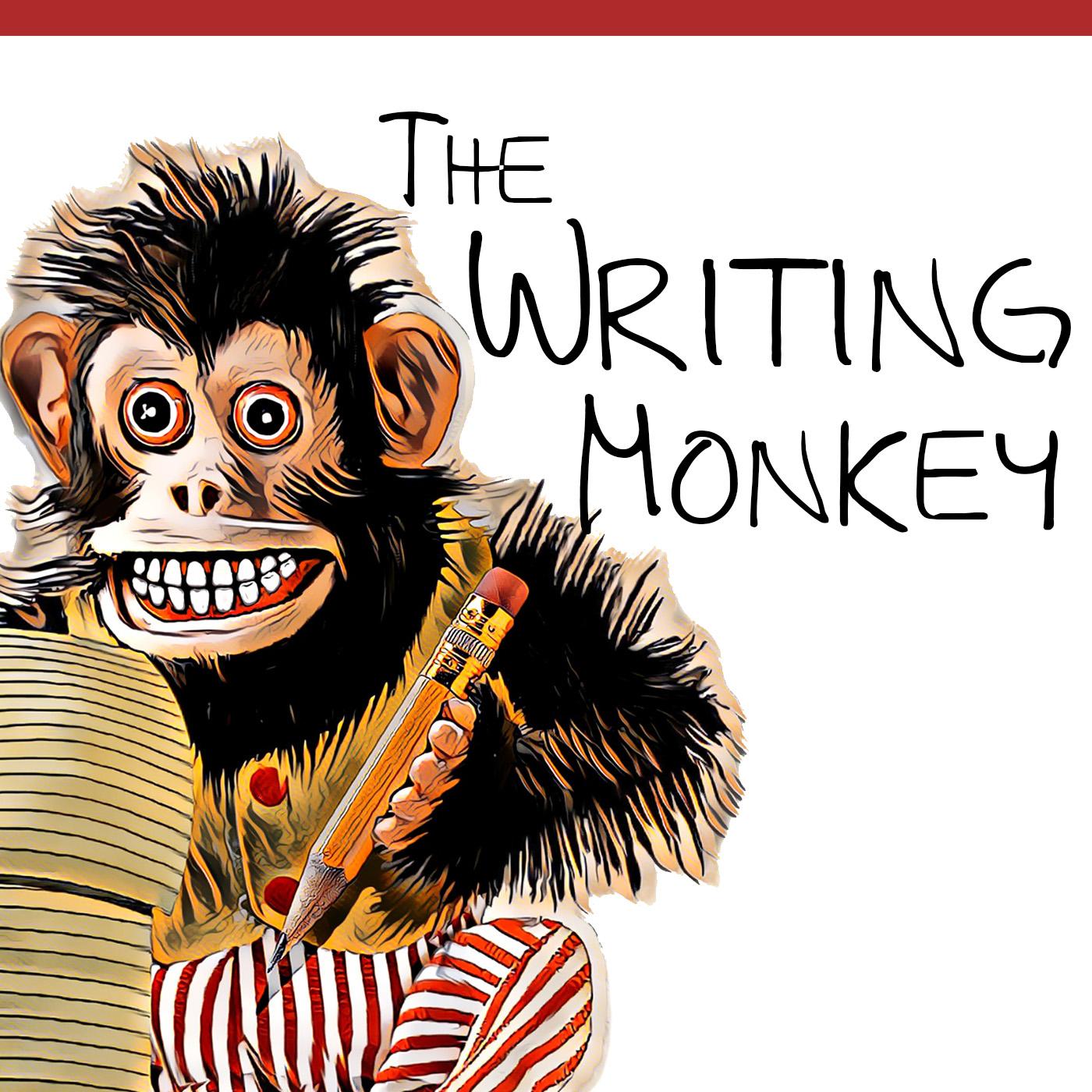 The Writing Monkey Podcast show art