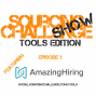 Artwork for Sourcing Challenge Show - Tools Edition - AmazingHiring