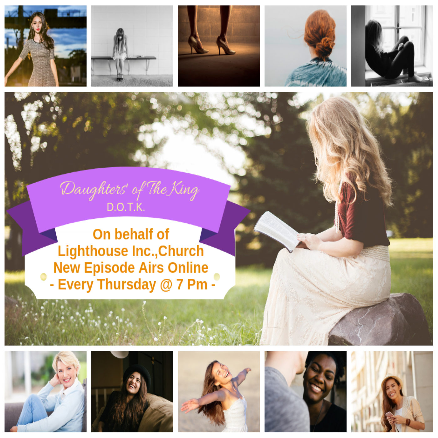 Daughters' of The King (Podcast) show art