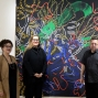 Artwork for Nancy Graves gallery talk featuring Christina Hunter, Cassandra Lozano and David Eichholtz