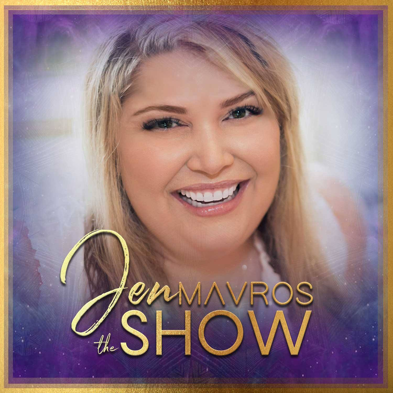 The Jen Mavros Show show art