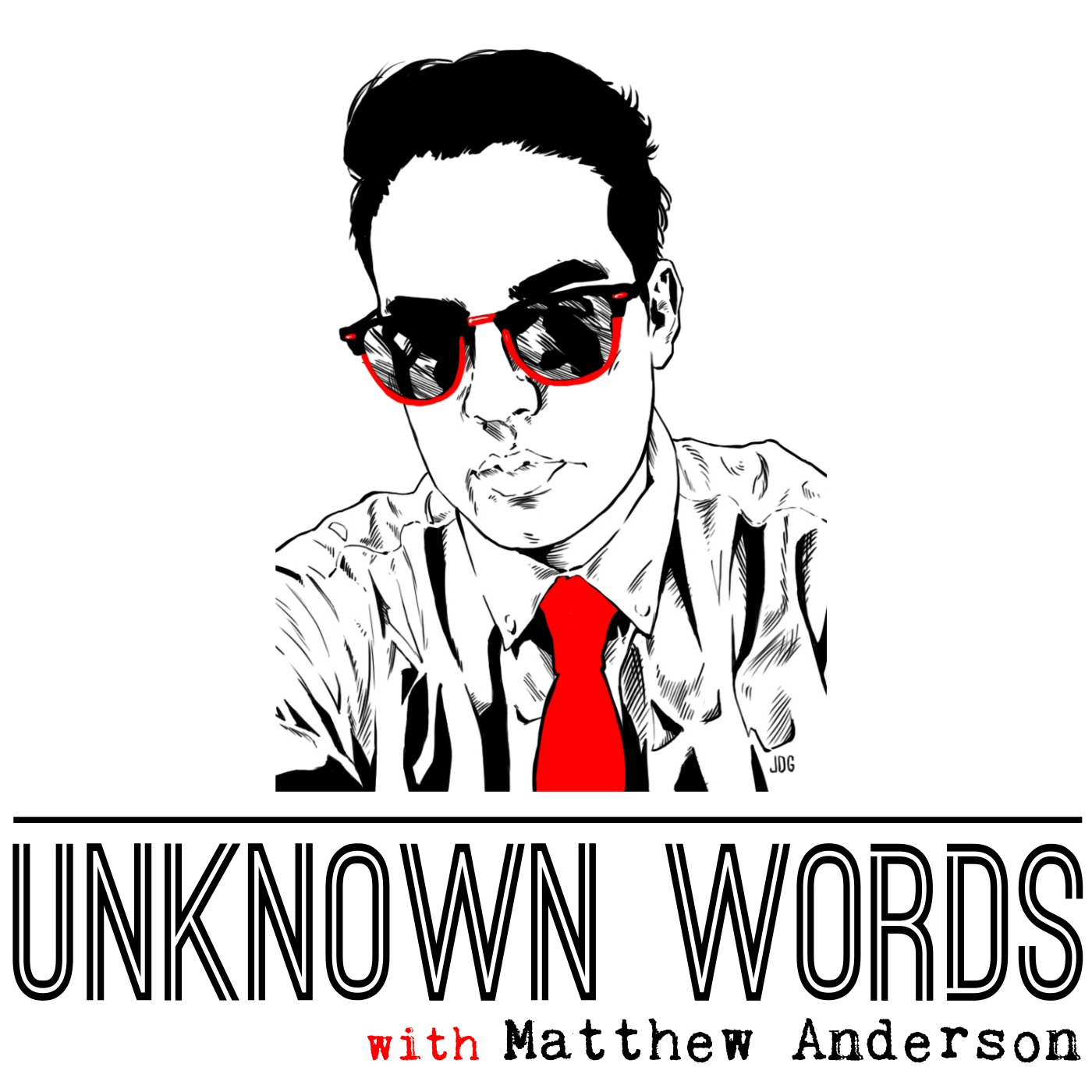 Unknown Words with Matthew Anderson show art