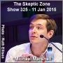 Artwork for The Skeptic Zone #325 - 11.Jan.2015