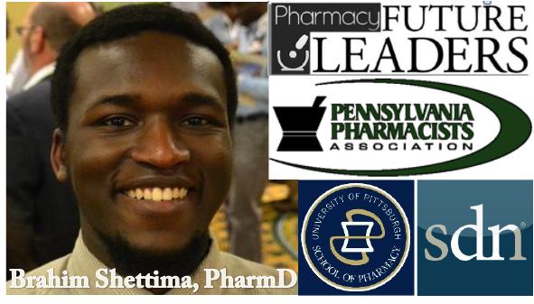 Pharmacy Podcast Episode 158 Pharmacy Future Leaders Brahim Shettima PharmD