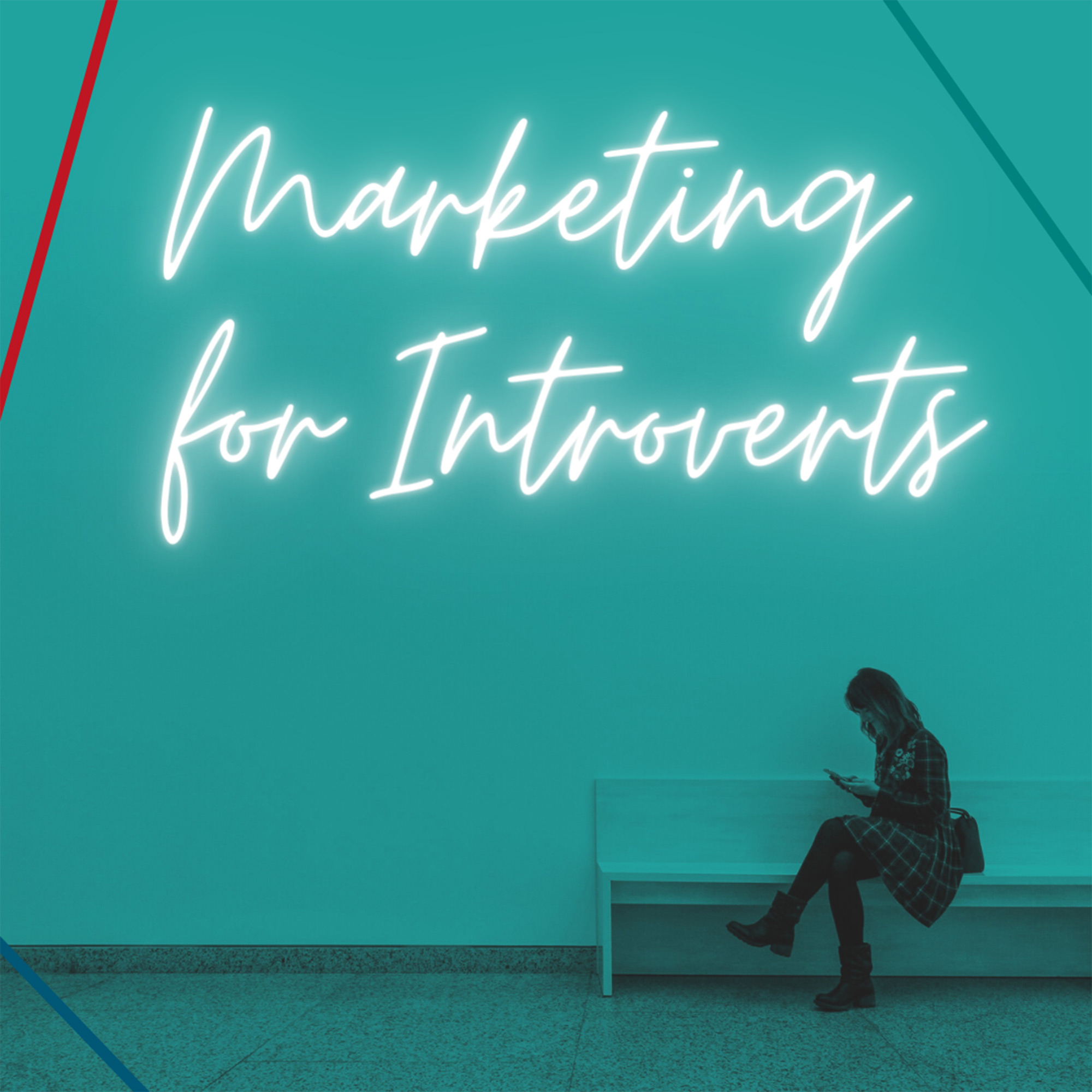 Marketing For Introverts show art