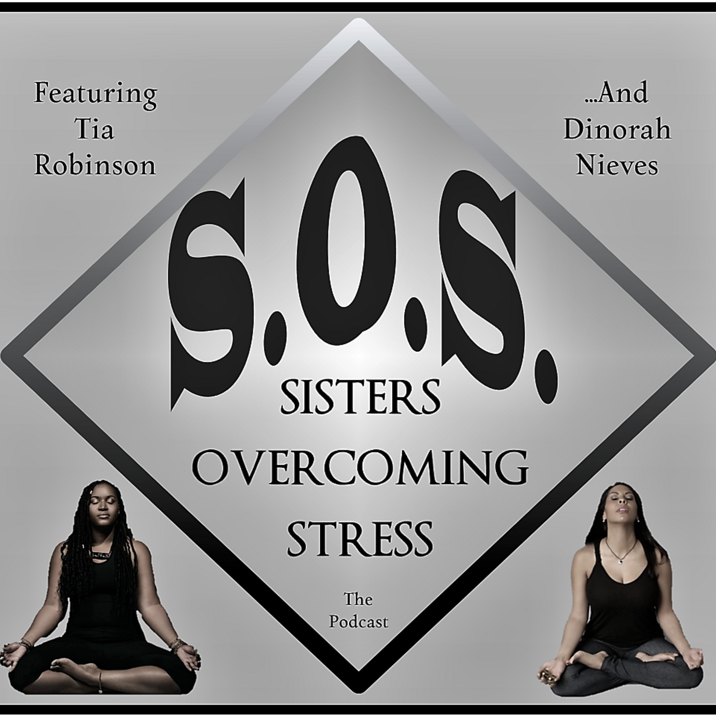 S.O.S. - Sisters Overcoming Stress show art