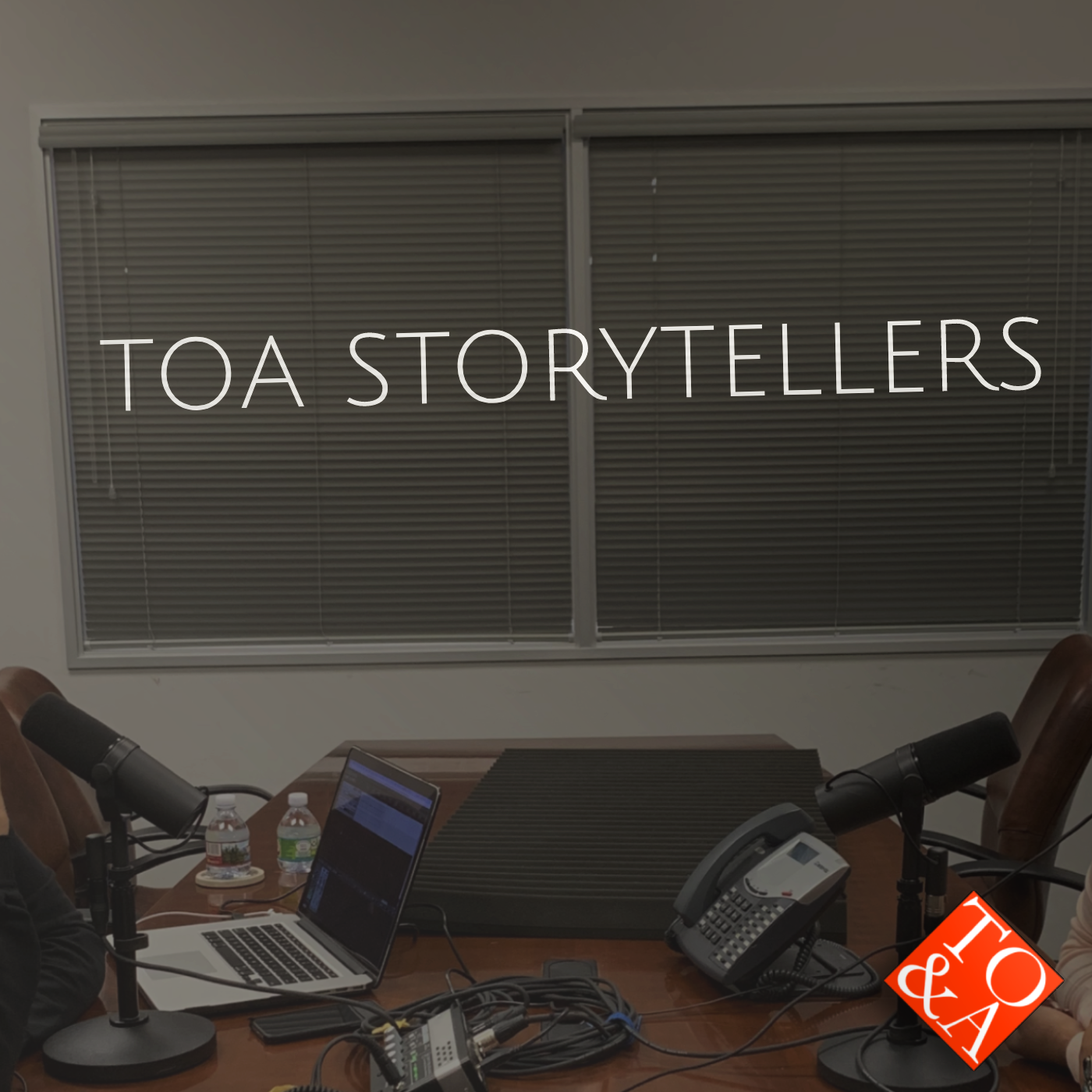 TOA Storytellers show art