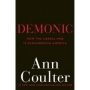 Artwork for Show 860 Ann Coulters book Demonic. Medved talks to author.