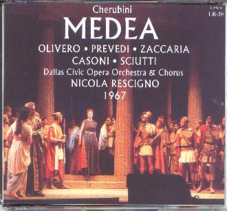 Medea with Magda Olivero