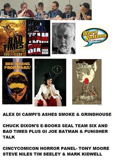 Word Balloon Podcast Presents Grindhouse Comics With Alex Di Campi Chuck Dixon Tony Moore Steve Niles Tim Seeley and Mark Kidwell