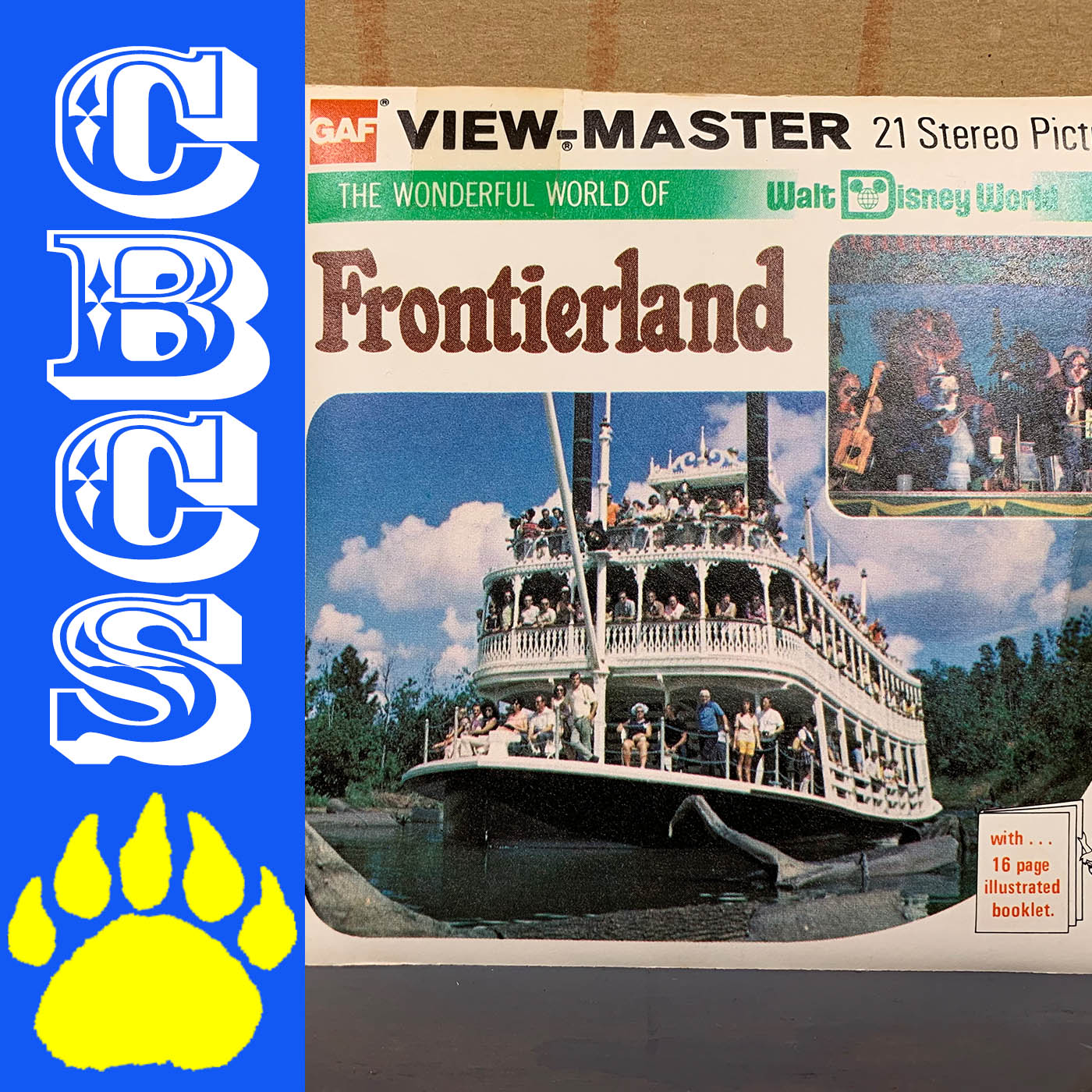 Artwork for 1982 Walt Disney World Frontierland View-Master Reels - Country Bear Collector Show #198