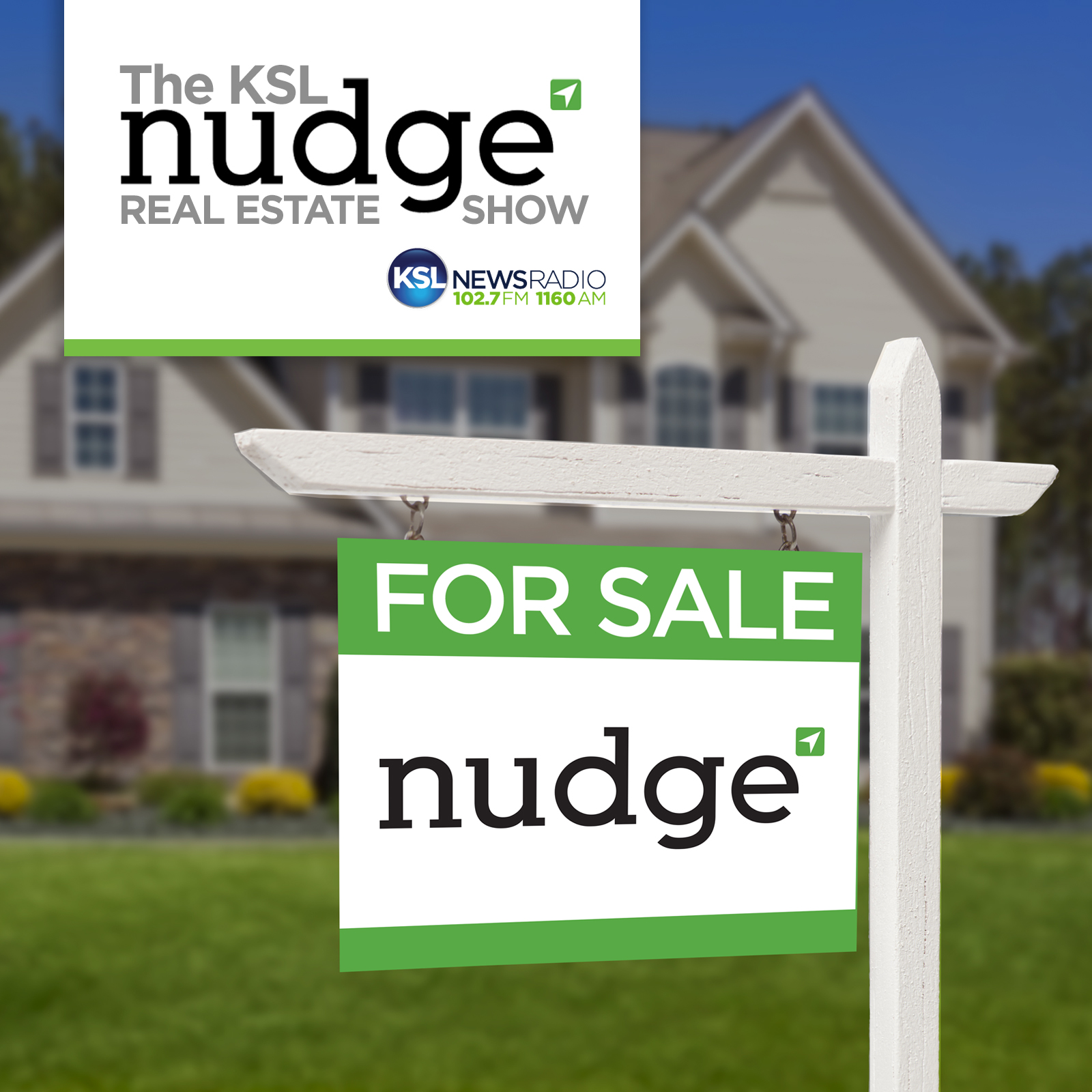 The Nudge Real Estate Show show art