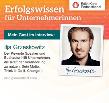Im Gespräch mit Ilja Grzeskowitz