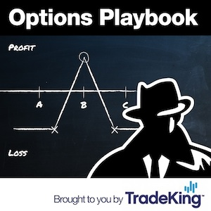 Artwork for Options Playbook Radio 142: Back Spreads with Puts in the S&P500