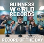 Artwork for RotD: 11th March - This week in records: First disabled person to row from Europe to South America, farthest distance survived in a tornado, farthest distance fired by a human cannonball, largest structure made of toast