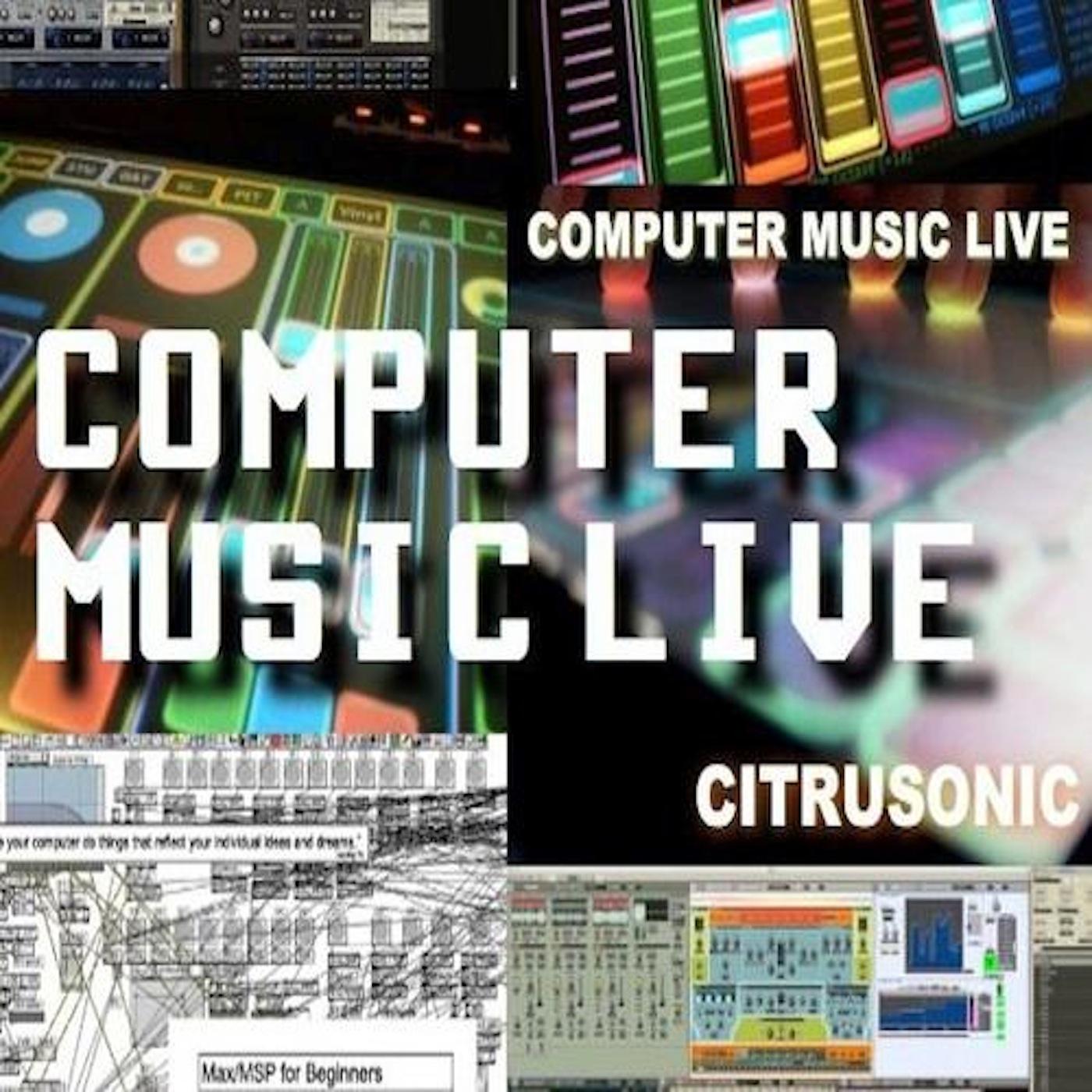 Drum and Bass Dubstep IDM EDM DNB | Hip Hop Trap Breaks & Beats | Reaktor Synthesizer Sounds Design | Computers Music Live / Computers LIVE  show art