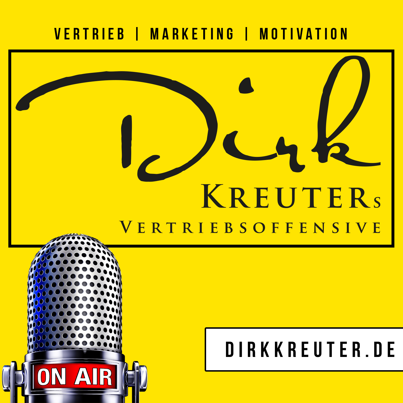 Dirk Kreuters Vertriebsoffensive: Verkauf | Marketing | Vertrieb | Führung | Motivation show art