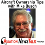 Artwork for 147 Essential Tips on Aircraft Ownership – Interview with Mike Busch of Savvy Aviation