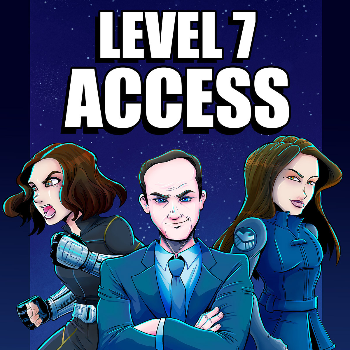Level 7 Access: A Marvel Cinematic Universe Podcast show art
