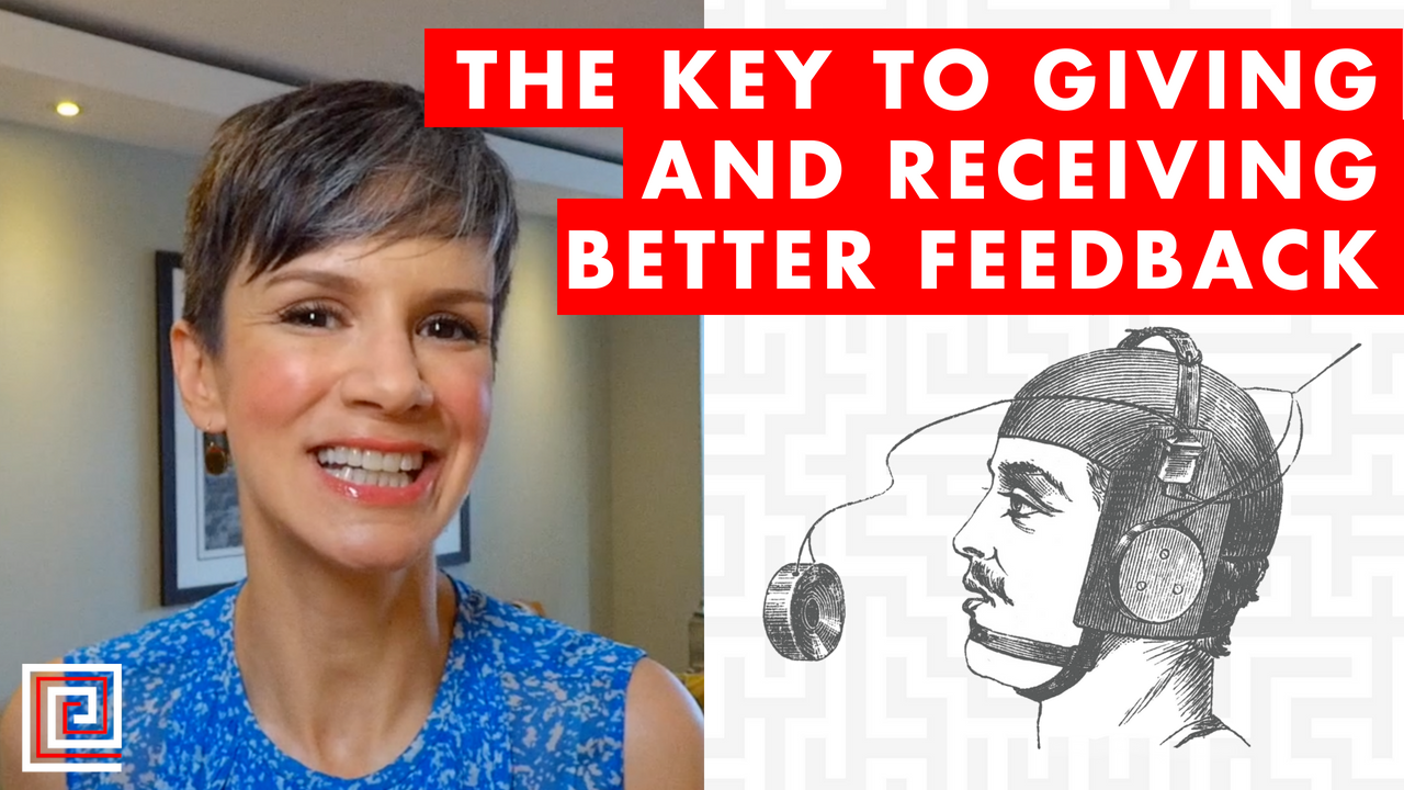 Artwork for The Key to Giving and Receiving Better Feedback - EP083