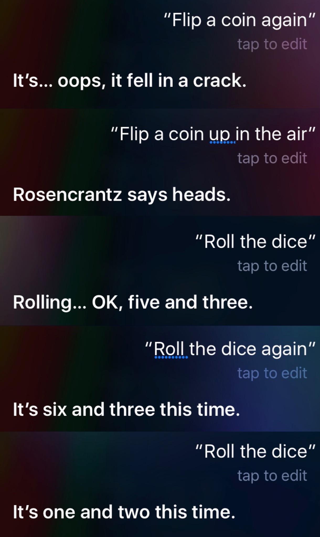 Siri Says 01