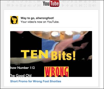 YouTube Promo for The Good Old Shorties
