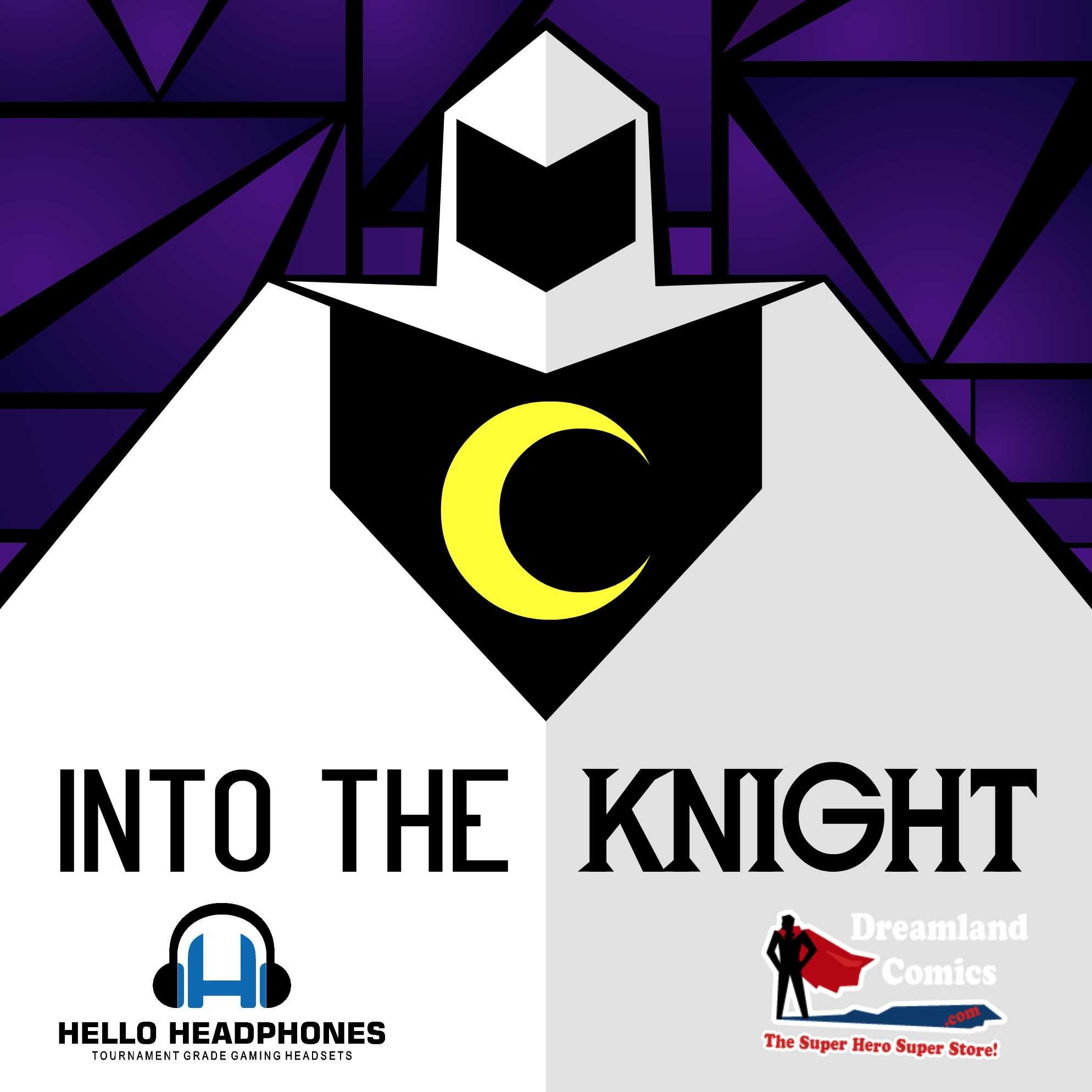 Into The Knight -The Moon Knight Podcast show art