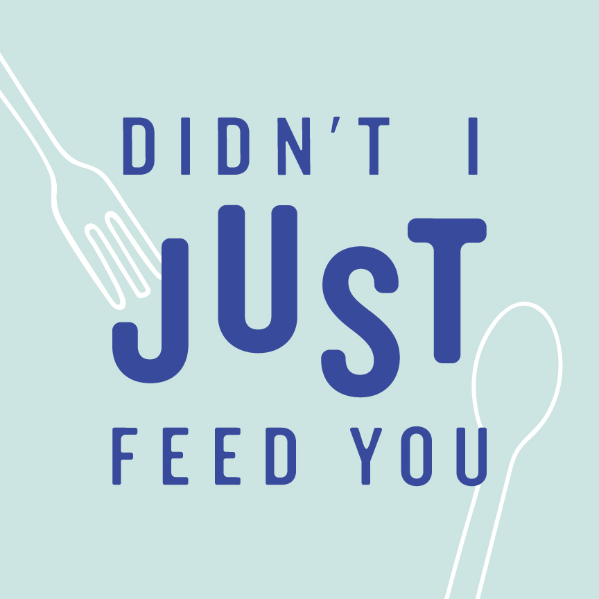Didn't I Just Feed You show art
