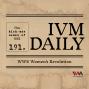 Artwork for IVM Daily Ep. 191: WWE Women's Revolution