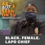 Artwork for Black. Female. LAPD Chief