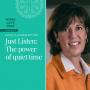 Artwork for Just Listen: The power of quiet time