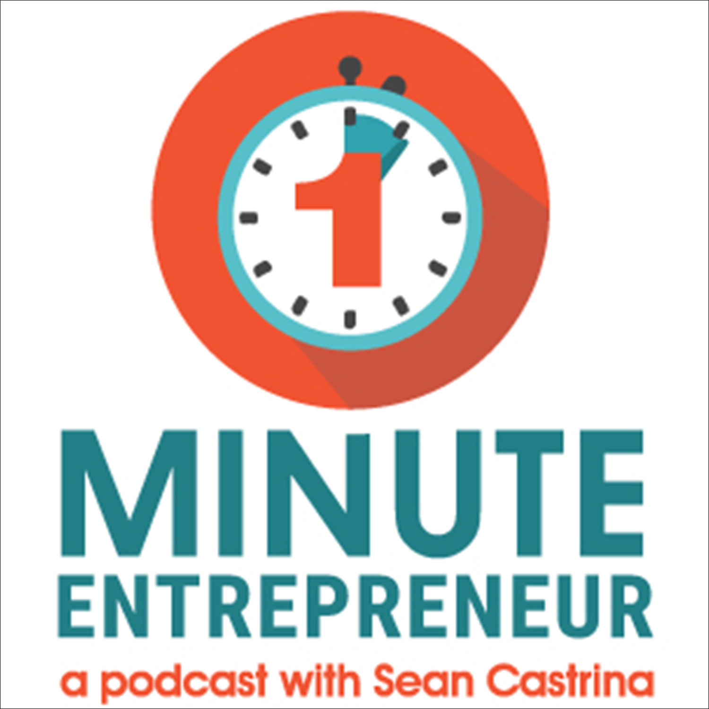 The One Minute Entrepreneur show art