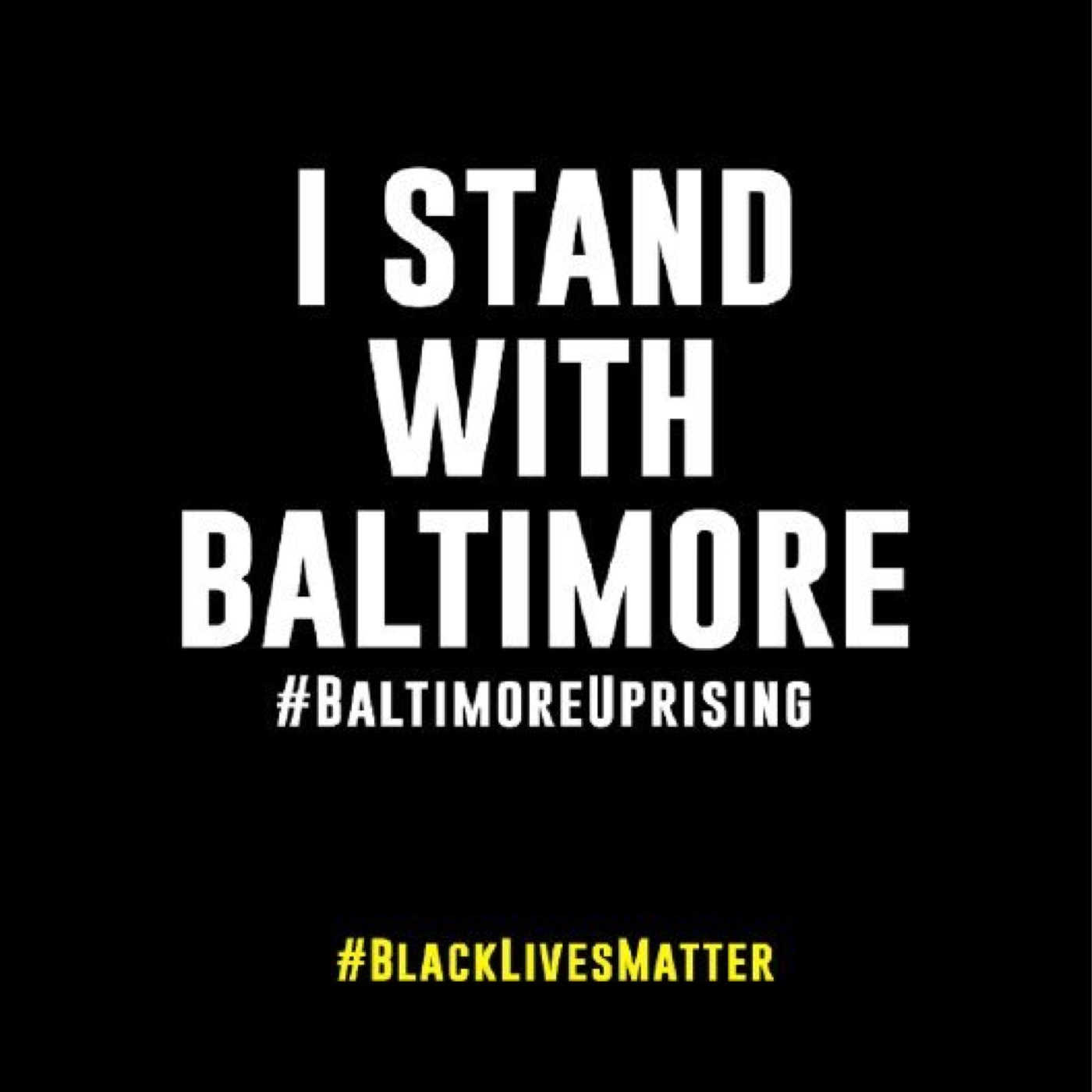 (2015/05/08) Continued injustice, continued response (#BaltimoreUprising)