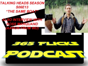 365Flicks #33 Interview with Ross Marquand (Aaron From WD) Talking Heads Walking Dead Companion S06E13 (Spoilers Duh)