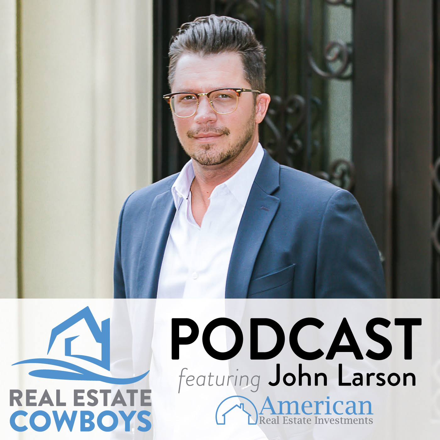 Real Estate Cowboys Podcast show art