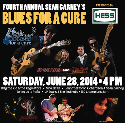 The BluzNdaBlood Show #191, Blues For A Cure Preview, 2014